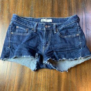 Levis 518 Womens Superlow Jean Shorts